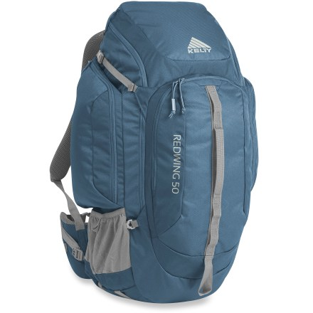Camp and Hike The Kelty Redwing 50 pack is a tried-and-true workhorse. This rugged and comfortable pack is a great choice for day hiking and also has excellent capacity and organization for urban adventures. - $61.93