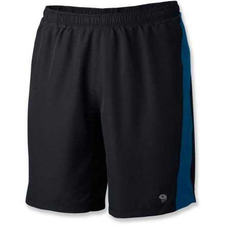 Fitness The Mountain Hardwear Refueler 2-in-1 shorts help you charge through your workout with 4-way stretch and lightweight fabric. - $26.83