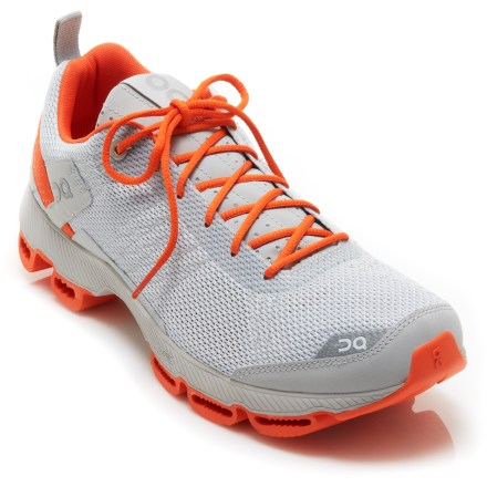 Fitness Built for runners looking for a lightweight and agile shoe, the On Cloudsurfer road-running shoes are built to transform energy into forward momentum so you can focus on your speed work. - $64.83