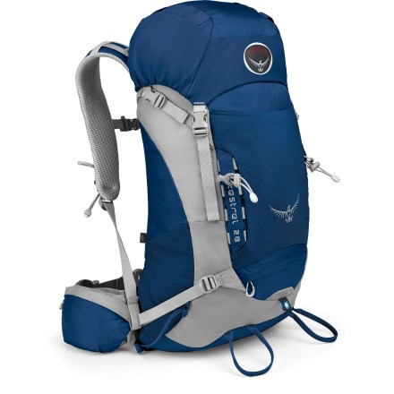 Camp and Hike The Osprey Kestrel 28 pack sports a fast and light design with lightweight materials and all the features you need for done-in-a-day climbing, cragging and other outdoor adventures. - $83.93