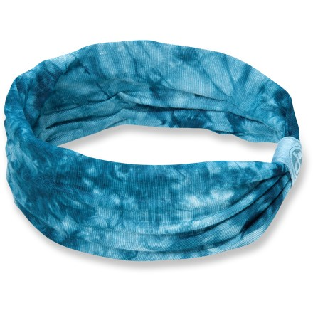 The soft and stretchy Pistil Bonnie headband can be worn scrunched or flat. Soft cotton jersey fabric is comfortable next to skin. - $15.00