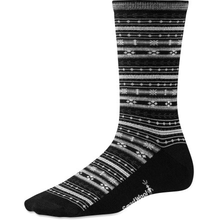 Surf These casual Mini Fairisle socks for sandal-wearing Saturdays supply well-known SmartWool performance to keep your feet dry and comfortable. - $9.83