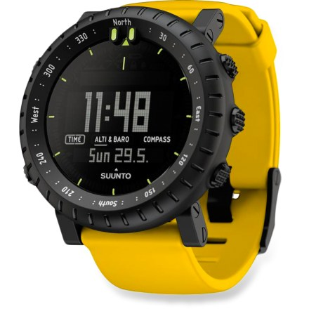 Camp and Hike The Suunto Core Crush multifunction watch is considered essential equipment for backcountry endeavors. It provides the data you need to take on nature's greatest challenges. - $299.00