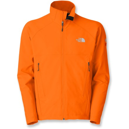 Hate feeling weighed down by heavy fabrics or bulky cuts? The North Face Iodin jacket for men offers tough durability with a barely-there feel so you can keep your pace on the trails. - $64.83