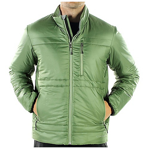 Entertainment Free Shipping. Ex Officio Men's Storm Logic Jacket DECENT FEATURES of the Ex Officio Men's Storm Logic Jacket 4 Exo Travel System pockets Converts to travel pillow 20 denier - featherweight polyester microfiber mini ripstop shell Exo DWR finish for water resistance The SPECS High Warmth to Weight: The warmth of the garment is very high for the weight of the fabric Water Resistant: Lightly coated with polyurethane to resist the penetration of water Windproof: Fabric is treated or woven tightly to create a barrier from wind Thermal: Effectively retains body heat Soft: This fabric has a nice feel and is soft on skin Lightweight: Lightweight fibers make this weigh less than a similar garment Security Zip Pocket: Pocket with a zipper closure to keep belongings safe Fabric: Shell / Lining: 100% Polyester, Insulation: PrimaLoft One - $149.95