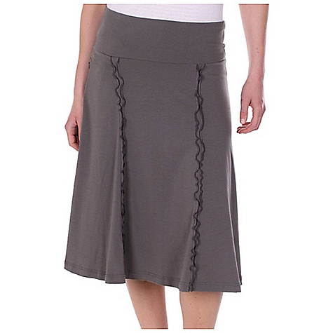 Free Shipping. Ex Officio Women's Go-To Knee Skirt DECENT FEATURES of the Ex Officio Women's Go/To Knee Skirt Security zipper pocket Tagless label for added comfort Stretch: Stretch fabric provides maximum mobility and comfort during activity Odor Resistant: Resists growth of bacteria and fungus that cause odors Quick drying: Fibers release moisture easily so garment dries rapidly Wicking: Fabric moves moisture along the garment's surface away from the skin The SPECS Natural fit DriRelease Go/To 81% Polyester/14% Cotton/5% Spandex - $59.95