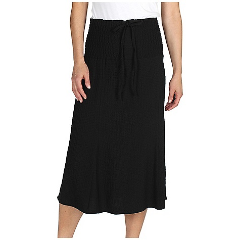 Entertainment Free Shipping. Ex Officio Women's Savvy Skirt DECENT FEATURES of the Ex Officio Women's Savvy Skirt 3 Position versatility (halter dress, tube dress, adjustable length skirt) Natural fit The SPECS Lightweight: Lightweight fibers make this weigh less than a similar garment Stretch: Stretch fabric provides maximum mobility and comfort during activity Wrinkle Resistant: Fiber weave recovers quickly from folding and creasing and releases wrinkles without heat Length: 33in. Fabric: Scrunch Cloth, 60% Rayon, 38% Polyester, 2% Spandex - $59.95