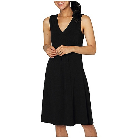 Entertainment Free Shipping. Ex Officio Women's Go To Crossback Dress DECENT FEATURES of the Ex Officio Women's Go To Crossback Dress Back straps create criss/cross look Security zipper pocket Tagless label for added comfort Stretch: Stretch fabric provides maximum mobility and comfort during activity Odor Resistant: Resists growth of bacteria and fungus that cause odors Quick drying: Fibers release moisture easily so garment dries rapidly Wicking: Fabric moves moisture along the garment's surface away from the skin The SPECS Natural fit DriRelease Go/To 81% Polyester/14% Cotton/5% Spandex - $74.95