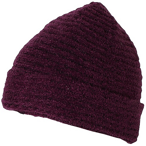 Ex Officio Women's Vona Beanie The SPECS Lightweight: Lightweight fibers make this weigh less than a similar garment Soft: This fabric has a nice feel and is soft on skin Thermal: Effectively retains body heat Wool: This fabric has wool content for extra warmth Wrinkle Resistant: Fiber weave recovers quickly from folding and creasing and releases wrinkles without heat Fabric: Vona Blend, 64% Nylon, 18% Rayon, 18% Wool - $33.95