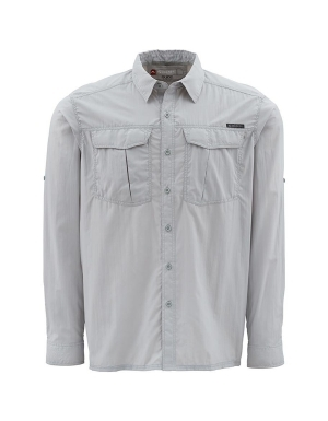 Simms clinch long sleeve shirt men 39 s thrill on for Fishing shirts that keep you cool