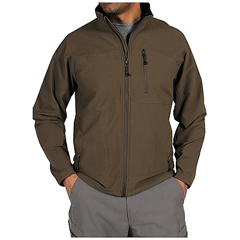 Free Shipping. Ex Officio Men's Boracade Jacket DECENT FEATURES of the Ex Officio Men's Boracade Jacket Travel pocket system 2-Way stretch DWR Floating pocket loop 2nd Layer fit The SPECS High-Strength: Fabric has high tear strength ratio for maximum durability Stretch: Stretch fabric provides maximum mobility and comfort during activity Water Resistant: Lightly coated with polyurethane to resist the penetration of water Stain Resistant: Resists the penetration of stains, making it easier to blot or launder Fabric: Boracade stretch, 96% Nylon, 4% Spandex - $129.95