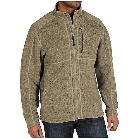Free Shipping. Ex Officio Men's Alpental Jacket DECENT FEATURES of the Ex Officio Men's Alpental Jacket Hidden security zip chest pocket Hidden security zip pocket in left hand pocket Flat lock stitching Saddle shoulder Relaxed fit The SPECS Thermal: Effectively retains body heat High Warmth to Weight: The warmth of the garment is very high for the weight of the fabric High-Strength: Fabric has high tear strength ratio for maximum durability Quick Drying: Fibers release moisture easily so garment dries rapidly Fabric: Ridgeline Fleece, 100% Polyester - $89.95