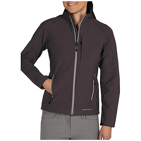Free Shipping. Ex Officio Women's Boracade Jacket DECENT FEATURES of the Ex Officio Women's Boracade Jacket Security zip chest pocket Travel pocket system 2-way stretch DWR Floating pocket loop 2nd Layer fit The SPECS High-Strength: Fabric has high tear strength ratio for maximum durability Stretch: Stretch fabric provides maximum mobility and comfort during activity Water Resistant: Lightly coated with polyurethane to resist the penetration of water Stain Resistant: Resists the penetration of stains, making it easier to blot or launder Fabric: Boracade Stretch, 96% Nylon, 4% Spandex - $129.95