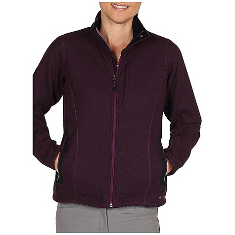 Free Shipping. Ex Officio Women's Consolo Fleece Jacket DECENT FEATURES of the Ex Officio Women's Consolo Fleece Jacket Security zip chest pocket Travel pocket system Floating pocket loop 2nd Layer fit The SPECS High-Strength: Fabric has high tear strength ratio for maximum durability Stretch: Stretch fabric provides maximum mobility and comfort during activity Water Resistant: Lightly coated with polyurethane to resist the penetration of water Windproof: Fabric is treated or woven tightly to create a barrier from wind Fabric: Bonded Wool Fleece, 70% Polyester, 21% Wool, 9% Nylon - $179.95