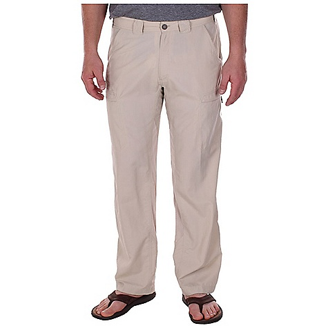 Free Shipping. Ex Officio Men's Vent'r Pant DECENT FEATURES of the Ex Officio Men's Vent'r Pant Two security zip leg pockets Drop-in cell pocket One zippered back pocket Internal drawcord Partial mesh gusset Partial elastic waist Lightweight: Lightweight fibers make this weigh less than a similar garment Quick Drying: Fibers release moisture easily so garment dries rapidly Sun Guard 20+: Specialized fabric rated with a UPF (Ultraviolet Protection Factor) absorbs and reflects harmful rays, preventing them from damaging your skin Stain Resistant: Resists the penetration of stains, making it easier to blot or launder Water Resistant: Lightly coated with polyurethane to resist the penetration of water The SPECS Relaxed fit Nio Nycott Ripstop 100% Nylon Inseam: short: 30in., regular: 32in. - $79.95