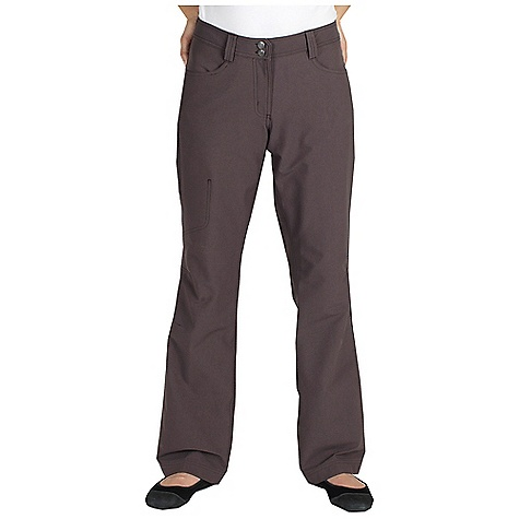 Free Shipping. Ex Officio Women's Boracade Pant DECENT FEATURES of the Ex Officio Women's Boracade Pant Side zip security pocket Full inseam gusset Articulated knee 2-Way stretch DWR Brushed interior for maximum comfort Floating pocket loop Natural fit The SPECS High-Strength: Fabric has high tear strength ratio for maximum durability Stretch: Stretch fabric provides maximum mobility and comfort during activity Water Resistant: Lightly coated with polyurethane to resist the penetration of water Stain Resistant: Resists the penetration of stains, making it easier to blot or launder Inseam: petite: 29in., regular: 32in. Fabric: Boracade Stretch, 96% Nylon, 4% Spandex - $99.95