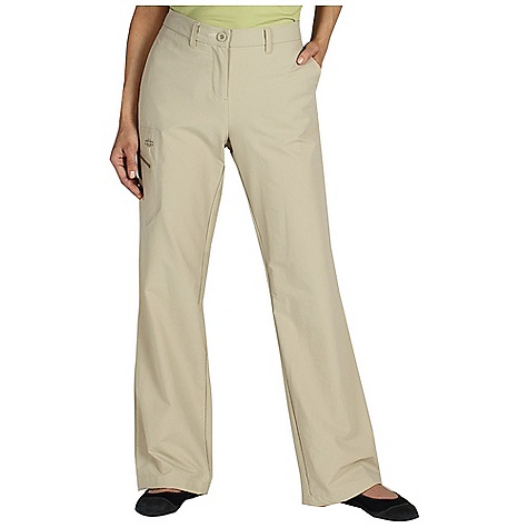 Free Shipping. Ex Officio Women's Trail Roam'r Pant DECENT FEATURES of the Ex Officio Women's Trail Roam'r Pant Welded cargo pocket with exposed zipper Welded zipper back security pocket Hidden security zip pocket in left hand pocket 2-Way stretch DWR Floating pocket loop Natural fit The SPECS High-Strength: Fabric has high tear strength ratio for maximum durability Stain Resistant: Resists the penetration of stains, making it easier to blot or launder Stretch: Stretch fabric provides maximum mobility and comfort during activity Sun Guard 50+: Specialized fabric rated with a UPF (Ultraviolet Protection Factor) absorbs and reflects harmful rays, preventing them from damaging your skin Water Resistant: Lightly coated with polyurethane to resist the penetration of water Windproof: Fabric is treated or woven tightly to create a barrier from wind Inseam: petite: 29in., regular: 32in. Fabric: Gallivant Stretch, 96% Nylon, 4% Spandex - $84.95