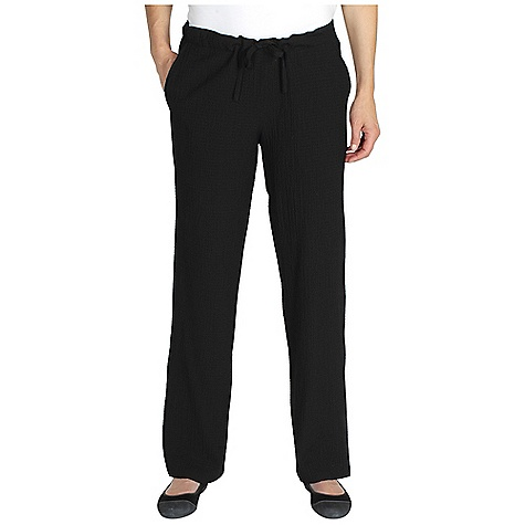 Free Shipping. Ex Officio Women's Savvy Pant DECENT FEATURES of the Ex Officio Women's Savvy Pant Draw cord adjustable waist Hidden security zip pocket Natural fit The SPECS Lightweight: Lightweight fibers make this weigh less than a similar garment Stretch: Stretch fabric provides maximum mobility and comfort during activity Wrinkle Resistant: Fiber weave recovers quickly from folding and creasing and releases wrinkles without heat Inseam: 31in. Fabric: Scrunch Cloth, 60% Rayon, 38% Polyester, 2% Spandex - $64.95