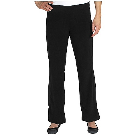Free Shipping. Ex Officio Women's Jandiggity Fleece Pant DECENT FEATURES of the Ex Officio Women's Jandiggity Fleece Pant Interior mesh pocket Interior drawstring Forward and backward facing seams for comfort Floating pocket loop Natural fit The SPECS Soft: This fabric has a nice feel and is soft on skin Thermal: Effectively retains body heat Moisture Wicking: Fabric moves moisture along the garment's surface away from the skin Inseam: 32in. Fabric: Grid Micro Fleece, 100% Polyester - $49.95