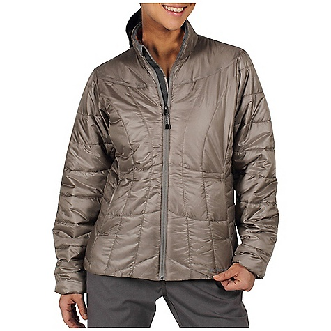 Entertainment Free Shipping. Ex Officio Women's Storm Logic Jacket DECENT FEATURES of the Ex Officio Women's Storm Logic Jacket Security zip chest pocket Travel pocket system Converts to travel pillow Insulated DWR Floating pocket loop 2nd Layer fit The SPECS High Warmth to Weight: The warmth of the garment is very high for the weight of the fabric Lightweight: Lightweight fibers make this weigh less than a similar garment Windproof: Fabric is treated or woven tightly to create a barrier from wind Water Resistant: Lightly coated with polyurethane to resist the penetration of water Fabric: Storm Logic Risptop Shell: 100% Polyester Insulation: Prima loft Sport - $164.95