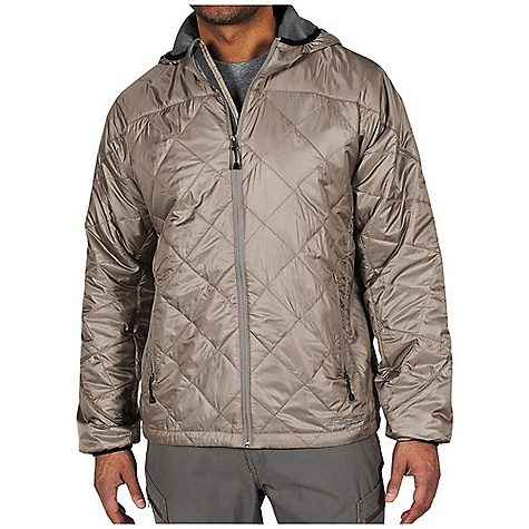 Entertainment Free Shipping. Ex Officio Men's Storm Logic Sweater DECENT FEATURES of the Ex Officio Men's Storm Logic Sweater Converts to travel pillow Insulated DWR Floating pocket loop 2nd Layer fit The SPECS High Warmth to Weight: The warmth of the garment is very high for the weight of the fabric Lightweight: Lightweight fibers make this weigh less than a similar garment Water Resistant: Lightly coated with polyurethane to resist the penetration of water Windproof: Fabric is treated or woven tightly to create a barrier from wind Fabric: Storm Logic Rip stop Shell: 100% Polyester Insulation: Prim aloft Sport - $154.95