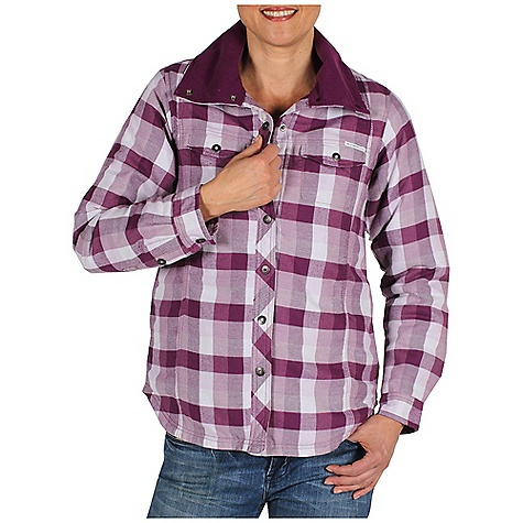 Free Shipping. Ex Officio Women's Pocatello Plaid Shirt Jack DECENT FEATURES of the Ex Officio Women's Pocatello Plaid Shirt Jack Interior security pocket Cord management feature Insulated Quilted lining Ring snap closure Locker loop Floating pocket loop Natural fit The SPECS Lightweight: Lightweight fibers make this weigh less than a similar garment Peach Finish: Surface brushed making fabric softer and more resistant to wrinkles Fabric: Pocatello Plaid, 60% Cotton, 40% Polyester - $99.95