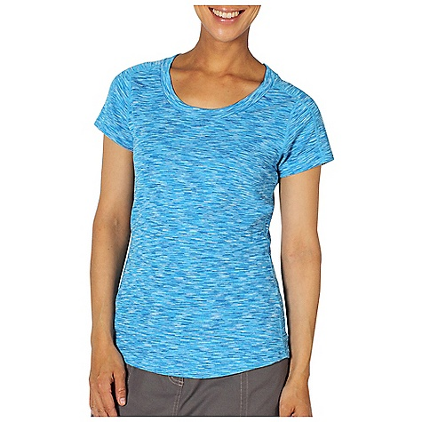 Free Shipping. Ex Officio Women's Chica Cool Scoop Top DECENT FEATURES of the Ex Officio Women's Chica Cool Scoop Top Flatlock stitching Tagless label for added comfort Forward facing shoulder seams Odor Resistant: Resists growth of bacteria and fungus that cause odors Quick drying: Fibers release moisture easily so garment dries rapidly Wicking: Fabric moves moisture along the garment's surface away from the skin Sun Guard 20+: Specialized fabric rated with a UPF (Ultraviolet Protection Factor) absorbs and reflects harmful rays, preventing them from damaging your skin The SPECS Slim fit DriRelease Chica Cool 85% Polyester/15% Cotton - $54.95
