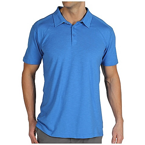 Free Shipping. Ex Officio Men's ExO Dri Carbonite S-S Polo DECENT FEATURES of the Ex Officio Men's ExO Dri Carbonite Short Sleeve Polo Interior fold-over key pocket Flat lock stitching Tag less label for added comfort Forward facing shoulder seams Floating pocket loop Natural fit The SPECS Lightweight: Lightweight fibers make this weigh less than a similar garment Quick Drying: Fibers release moisture easily so garment dries rapidly Odor Resistant: Resists growth of bacteria and fungus that cause odors Moisture Wicking: Fabric moves moisture along the garment's surface away from the skin Fabric: ExO Dri Carbonite Jersey 64% Cotton, 36% Cocona Polyester - $59.95