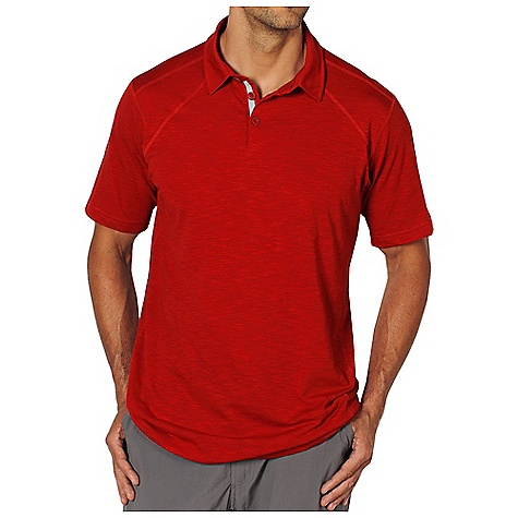 Free Shipping. Ex Officio Men's ExO JavaTech Polo S-S DECENT FEATURES of the Ex Officio Men's ExO JavaTech Polo Short Sleeve Tee Interior fold-over key pocket Flatlock stitching Tagless label for added comfort Forward facing shoulder seams Quick Drying: Fibers release moisture easily so garment dries rapidly Lightweight: Lightweight fibers make this weigh less than a similar garment Moisture Wicking: Fabric moves moisture along the garment's surface away from the skin Odor Resistant: Resists growth of bacteria and fungus that cause odors Sun Guard: Specialized fabric rated with a UPF (Ultraviolet Protection Factor) absorbs and reflects harmful rays, preventing them from damaging your skin The SPECS Natural fit JavaTech Jersey 53% Cotton/47% S Cafe Recycled Polyester - $64.95