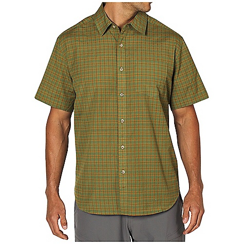 Free Shipping. Ex Officio Men's Kallu Micro Plaid S-S Top DECENT FEATURES of the Ex Officio Men's Kallu Micro Plaid Short Sleeve Top Button front placket Lightweight: Lightweight fibers make this weigh less than a similar garment The SPECS Natural fit Viapoli Micro Plaid 53% Cotton/47% Polyester - $49.95