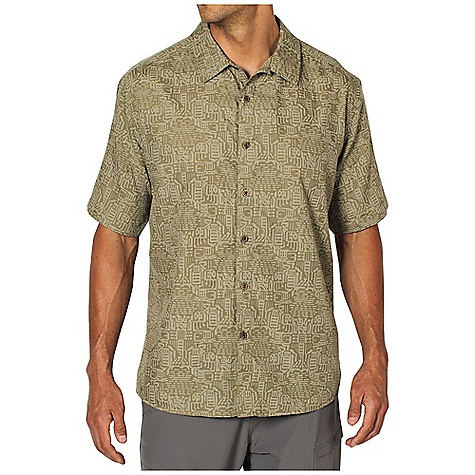 Free Shipping. Ex Officio Men's Next-To-Nothing Mai Tiki S-S Top DECENT FEATURES of the Ex Officio Men's Next-To-Nothing Mai Tiki Short Sleeve Top Button front placket Lightweight: Lightweight fibers make this weigh less than a similar garment The SPECS Relaxed fit Next To Nothing Geo 80% Polyester / 20% Cotton - $54.95