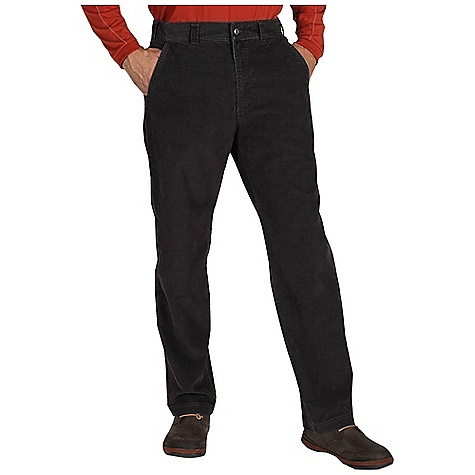 Free Shipping. Ex Officio Men's FlexCord Pant DECENT FEATURES of the Ex Officio Men's FlexCord Pant Hidden security pocket in left hand pocket Drop-in cell pocket on right leg 2 Way stretch Floating pocket loop Natural fit The SPECS High-Strength: Fabric has high tear strength ratio for maximum durability Wrinkle Resistant: Fiber weave recovers quickly from folding and creasing and releases wrinkles without heat Stretch: Stretch fabric provides maximum mobility and comfort during activity Inseam: short: 30in., regular: 32in. Fabric: Roughian Canvas, 65% Cotton, 33% Polyester, 2% Spandex - $84.95