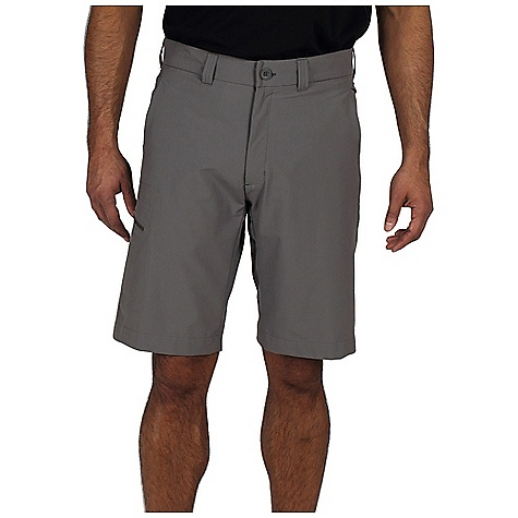 Free Shipping. Ex Officio Men's Trail Roam'r Short DECENT FEATURES of the Ex Officio Men's Trail Roam'r Short Welded cargo pocket with exposed zipper Welded zipper back security pocket Hidden security zip pocket in left hand pocket 2-way stretch High Strength: Fabric has high tear strength ratio for maximum durability Stretch: Stretch fabric provides maximum mobility and comfort during activity Stain Resistant: Resists the penetration of stains, making it easier to blot or launder Sun Guard 50+: Specialized fabric rated with a UPF (Ultraviolet Protection Factor) absorbs and reflects harmful rays, preventing them from damaging your skin Wind Resistant: Fabric is treated or woven tightly to create a barrier from wind Water Resistant: Lightly coated with polyurethane to resist the penetration of water The SPECS Natural fit Inseam: 11in. Gallivant Stretch 96% Nylon/4% Spandex - $79.95