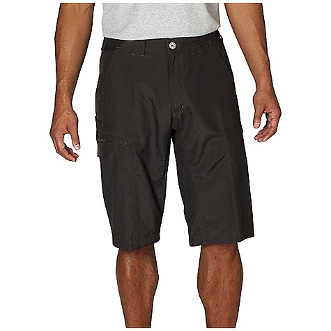 Free Shipping. Ex Officio Men's Vent'r Skim'r Short DECENT FEATURES of the Ex Officio Men's Vent'r Skim'r Short Two security zip pockets Drop-in cell pocket One security zip back pocket Internal drawcord Partial elastic waist Lightweight: Lightweight fibers make this weigh less than a similar garment Quick Drying: Fibers release moisture easily so garment dries rapidly Stain Resistant: Resists the penetration of stains, making it easier to blot or launder Water Resistant: Lightly coated with polyurethane to resist the penetration of water Sun Guard 20+: Specialized fabric rated with a UPF (Ultraviolet Protection Factor) absorbs and reflects harmful rays, preventing them from damaging your skin The SPECS Relaxed fit Nio Nycott Ripstop 100% Nylon Inseam: 14in. - $69.95