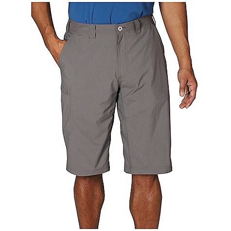 Free Shipping. Ex Officio Men's Nomad Skim'r Short DECENT FEATURES of the Ex Officio Men's Nomad Skim'r Short Full inseam gusset Partial elastic waist Security zip back pocket Security zip leg pocket Drop-in cell pocket Lightweight: Lightweight fibers make this weigh less than a similar garment Sun Guard 30+: Specialized fabric rated with a UPF (Ultraviolet Protection Factor) absorbs and reflects harmful rays, preventing them from damaging your skin Quick Drying: Fibers release moisture easily so garment dries rapidly Stain Resistant: Resists the penetration of stains, making it easier to blot or launder Water Resistant: Lightly coated with polyurethane to resist the penetration of water The SPECS Relaxed fit Inseam: 14in. Nycott 100% Nylon - $64.95