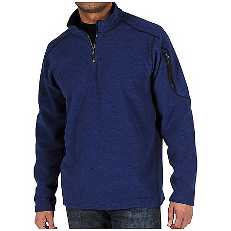 Free Shipping. Ex Officio Men's Make My Day Fleece 1-4 Zip DECENT FEATURES of the Ex Officio Men's Make My Day Fleece 1/4 Zip Security zip sleeve pocket Flat lock stitching Saddle shoulder Floating pocket loop 2nd Layer fit The SPECS Thermal: Effectively retains body heat Fabric: Make My Day Fleece, 100% Polyester - $89.95