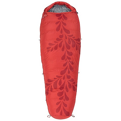 Camp and Hike Free Shipping. Kelty Women's Cosmic Down 20 Sleeping Bag DECENT FEATURES of the Kelty Women's Cosmic Down 20 Sleeping Bag Box baffle construction Efficient, form-fitting hood Top draft collar 58 inch dual-slider locking zipper Zipper draft tube with anti-snag design Internal liner loops Sleeping pad security loops Hang loops for storage Ground-level side seams and differential cut for maximum warmth Stuff sack included FatMan and Ribbon drawcords Captured cordlock The SPECS Temp Rating: 20deg / -7degC Shape: Mummy EN Comfort Limit: 32oF / 0oC EN Lower Limit: 21oF / -6oC Size Women's Regular: Fits to: 5 ft 8 in/173 cm Length: 74 in / 188 cm Shoulder girth: 58 in / 147 cm Fill weight: 21 oz. / .59 kg Total weight: 2 lbs 9 oz. / 1.15 kg Stuffed diameter: 8 in / 20 cm Stuffed length: 14 in / 36 cm Insulation: 550 Fill-Power Down Shell material: 50D Polyester Taffeta Liner material:50D Polyester Taffeta - $149.95
