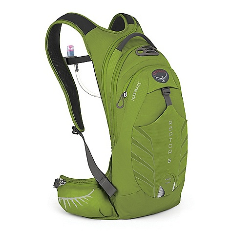 Camp and Hike Free Shipping. Osprey Raptor 6 Pack DECENT FEATURES of the Osprey Raptor 6 Pack AirScape backpanel provides cushioned comfort and breathability New BioStretch, ventilated harness is cool and comfortable Full hipbelt keeps pack stable and transfers load effectively Unique New hydration sleeve design with direct access zip for fast loading Shoulder strap zips offer right-side hose path LidLock clip quickly secures helmet Stretch mesh front pocket for quickly stashing extra gear Stretch mesh zippered waistbelt pockets provide secure, expandable storage Removable, roll-up pouch keeps tools handy and organized Internal sleeves hold pumps securely Zip access sunglass pocket with protective embossed fabric Blinker light attachment patch and reflective graphics for safety 3L Hydraulics Reservoir included in all models Magnetic sternum buckle for quick access to the reservoir bite valve Internal pocket for roll-up tool organizer Removable roll-up tool pouch The SPECS 70 x 100D nylon shadow check Volume: 366 cubic inches / 6 liter Weight: 1 lb 5 oz / 0.6 kg Reservoir Weight: 11 oz / 0.31 kg Dimension: (H x W x D): 19 x 9 x 6in. / 47 x 22 x 15 cm - $109.00