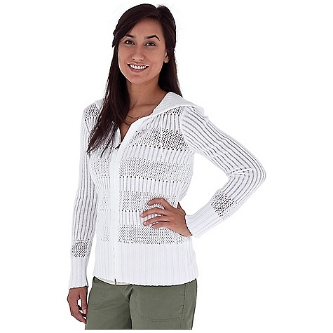 Entertainment Free Shipping. Royal Robbins Women's Chill Out Cardigan DECENT FEATURES of the Royal Robbins Women's Chill Out Cardigan Lightweight Zip front hoodie with 2-way zipper Variegated rib and crochet stitched patterns The SPECS Regular fit Hip length Fabric: Chill Out Yarn 7 oz 60% Cotton / 40% Acrylic - $59.95
