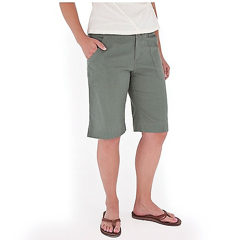 Entertainment Free Shipping. Royal Robbins Women's Cool Mesh Bermuda Short DECENT FEATURES of the Royal Robbins Women's Cool Mesh Bermuda Short Wide waistband with tab adjusts at back Dyed to match cotton sheeting at front and back pockets Flaps on back patch pockets Vents at hem The SPECS Regular fit Inseam: 12in. Fabric: Cool Mesh 3.8 oz 94% Cotton / 6% Organic Cotton Garment washed - $57.95
