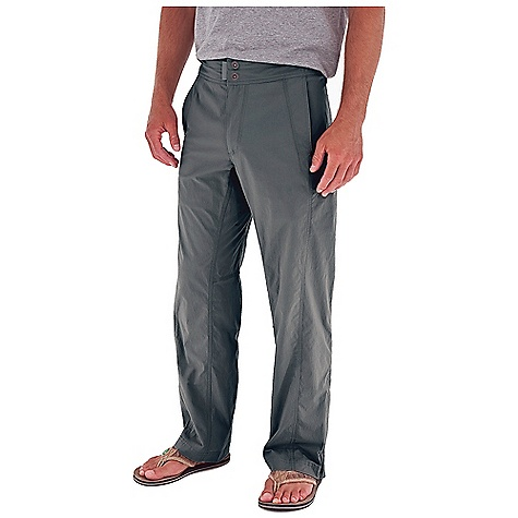 Fitness Free Shipping. Royal Robbins Men's Evolve Pant DECENT FEATURES of the Royal Robbins Men's Evolve Pant Stretch for range of motion Zip secured pocket on right hip Hidden zip secured pocket Adjustable waist on right side Breathable mesh pocket bags Drop-in cell pocket with logo snap closure Logo snap closures on center front and back pockets Full length running gusset with ventilation ports Boot friendly vertical zip at leg opening The SPECS Regular fit Fabric: Discovery Stretch Nylon 5 oz 96% Nylon / 4% Spandex UPF 50+ - $79.95