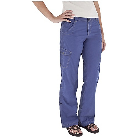 Entertainment Free Shipping. Royal Robbins Women's Promenade Pant DECENT FEATURES of the Royal Robbins Women's Promenade Pant Tonal stitching details Zip secured pocket Cargo pockets Drop-in cell phone pocket Logo rivet reinforced pockets Back patch pockets Roll-up leg The SPECS Inseam: 32in. Regular fit Contemporary rise Straight leg Fabric: Maori 4 oz 70% Cotton / 30% Nylon - $74.95