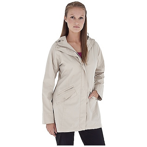 Entertainment Free Shipping. Royal Robbins Women's Windjammer Traveler Jacket DECENT FEATURES of the Royal Robbins Women's Windjammer Traveler Jacket Snap placket Zip secured pocket Adjustable tabs at wrist Extended cuff for sun protection Snap secured hand pockets Hood with visor and draw cord Back waist tab adjustment Shirt tail hem The SPECS Regular fit Center Back Length: 34in. Fabric: Windjammer Micro fiber 3 oz 100% Polyester DWR finish UPF 50+ - $88.95