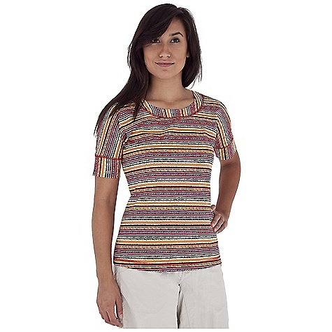 Entertainment Free Shipping. Royal Robbins Women's Plum Creek S-S Top DECENT FEATURES of the Royal Robbins Women's Plum Creek Short Sleeve Top Open scoop neck with self band Soft dolman sleeve with self cuff The SPECS Regular fit Standard length Fabric: Organic Jersey 3.25 oz 100% Organic Cotton Garment washed - $49.95