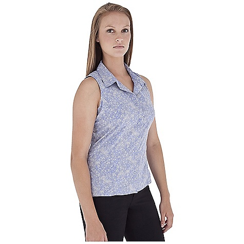 Entertainment Free Shipping. Royal Robbins Women's Mayan Sleeveless Top DECENT FEATURES of the Royal Robbins Women's Mayan Sleeveless Top Mesh lined yoke Zip secured pocket Shirt tail hem with side vents The SPECS Regular fit Standard length Fabric: Light Expedition 2 oz 100% Polyester UPF 50+ - $59.95