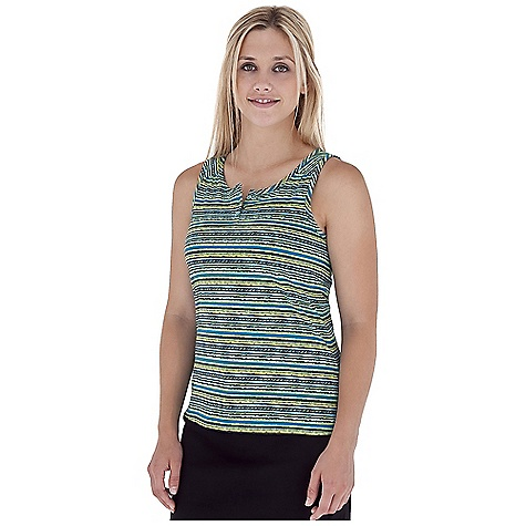 Surf Royal Robbins Women's Plum Creek Button Tank DECENT FEATURES of the Royal Robbins Women's Plum Creek Button Tank Button placket Rotated shoulder seams with gathers Back yoke with gathers Straight hem The SPECS Regular fit Standard length Fabric: Organic Jersey 3.25 oz 100% Organic Cotton Garment washed - $47.95
