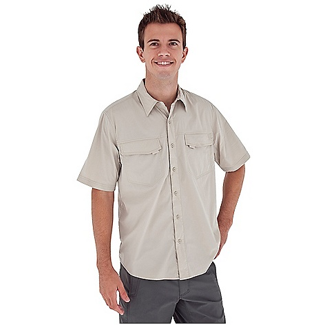 Entertainment Free Shipping. Royal Robbins Men's Boundary S-S Top DECENT FEATURES of the Royal Robbins Men's Boundary Short Sleeve Top Dri X-treme moisture wicking Stretch for range of motion Chest pockets with hook and loop closure Back ventilation Mesh lined yoke Shirt tail hem The SPECS Relaxed fit Fabric: Discovery Lite Stretch 3 oz 93% Nylon / 7% Spandex UPF 30+ - $69.95