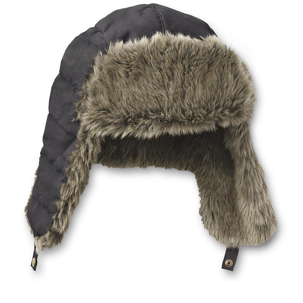 Snowboard Eddie Bauer Yukon Classic(TM) Down Aviator Hat - Inspired by the rugged outdoors and the pioneers and adventurers who made it their home. It's a fun look that's long on style - and warmth, thanks to the goose down fill. Water repellent. Imported. - $7.99