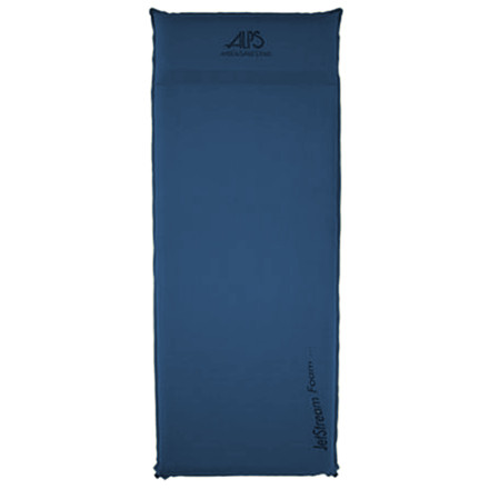 Camp and Hike The ALPS Mountaineering Lightweight Series Air Padgo light, but don't go uncomfortable. This full-length pad features Jet Stream polyurethane open cell foam that inflates fast, feels plush, but doesn't bulk up on weight. Diamond ripstop fabric on the top, polyester taffeta on the bottom, and non-corrosive nylon valves all add up to long-term durability. - $41.97