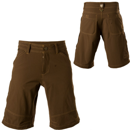 Camp and Hike Pull on the Kuhl Renegade Short and laugh in the face of conformity. Whether you're tackling a boulder problem, looking for a trailhead, or just hanging downtown, this short's four-way stretch fabric offers comfort in a relaxed but rugged style. - $68.95